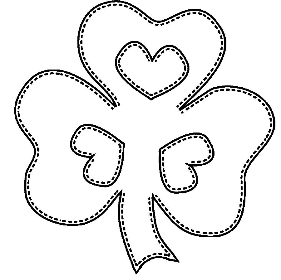 Shamrock - St Patricks Day Coloring Pages