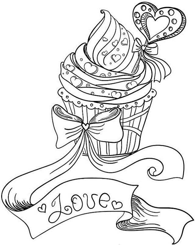 Valentines Day Coloring Pages for Adults - Best Coloring Pages For Kids