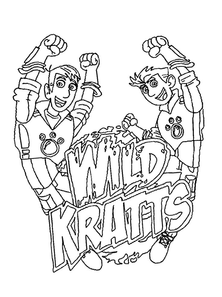 wild kratts coloring pages printable - photo#1