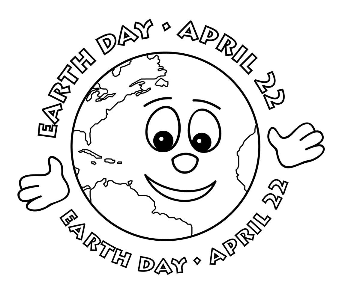 love earth day coloring pages - photo#28