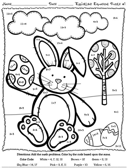 Easter Coloring Pages For 3rd Graders