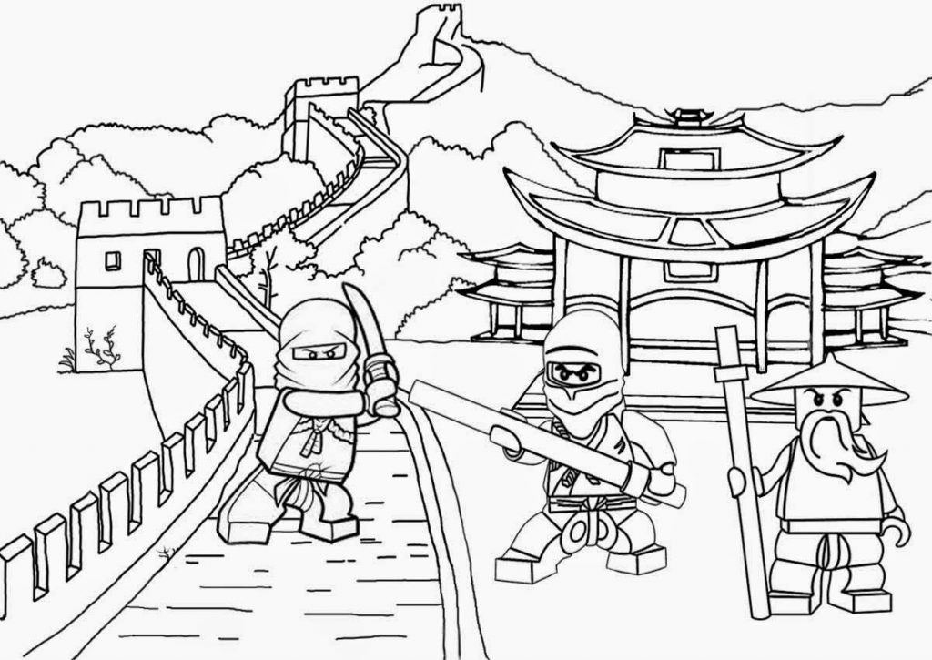 lego coloring pages - photo#32