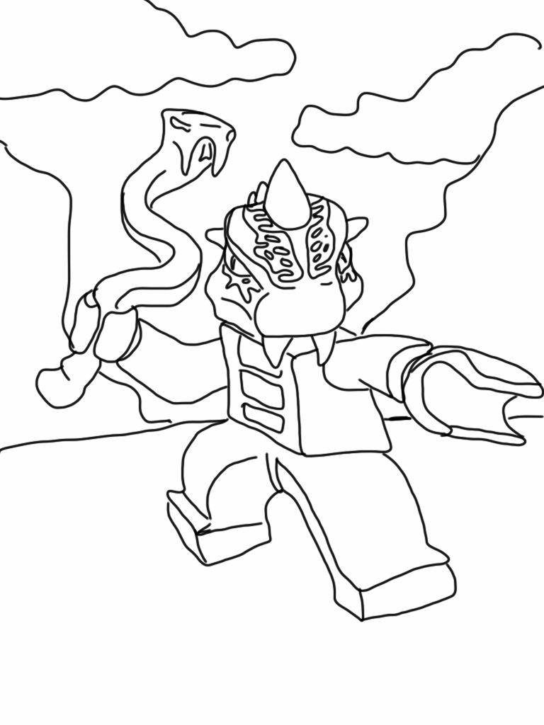 Ninjago coloring pages online ~ Lego Ninjago Coloring Pages - Best Coloring Pages For Kids