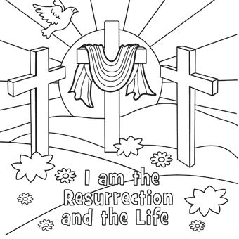 Top 10 Free Printable Cross Coloring Pages Online | Easter ... | 340x340