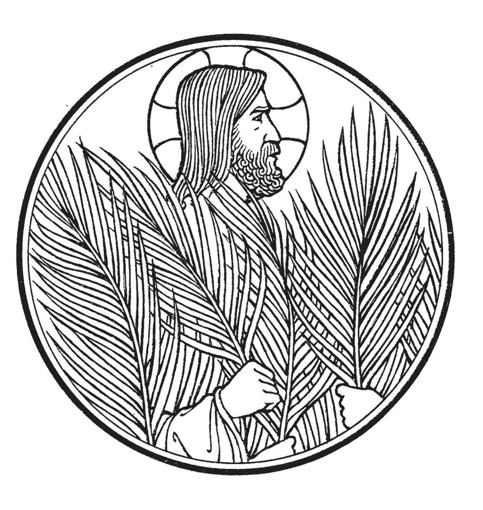 Jesus - Palm Sunday Coloring Pages