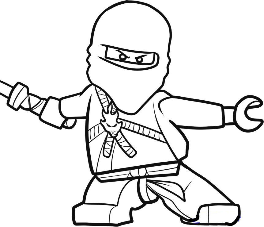 graphic relating to Ninja Coloring Pages Printable known as Lego Ninjago Coloring Webpages - Easiest Coloring Web pages For Young children