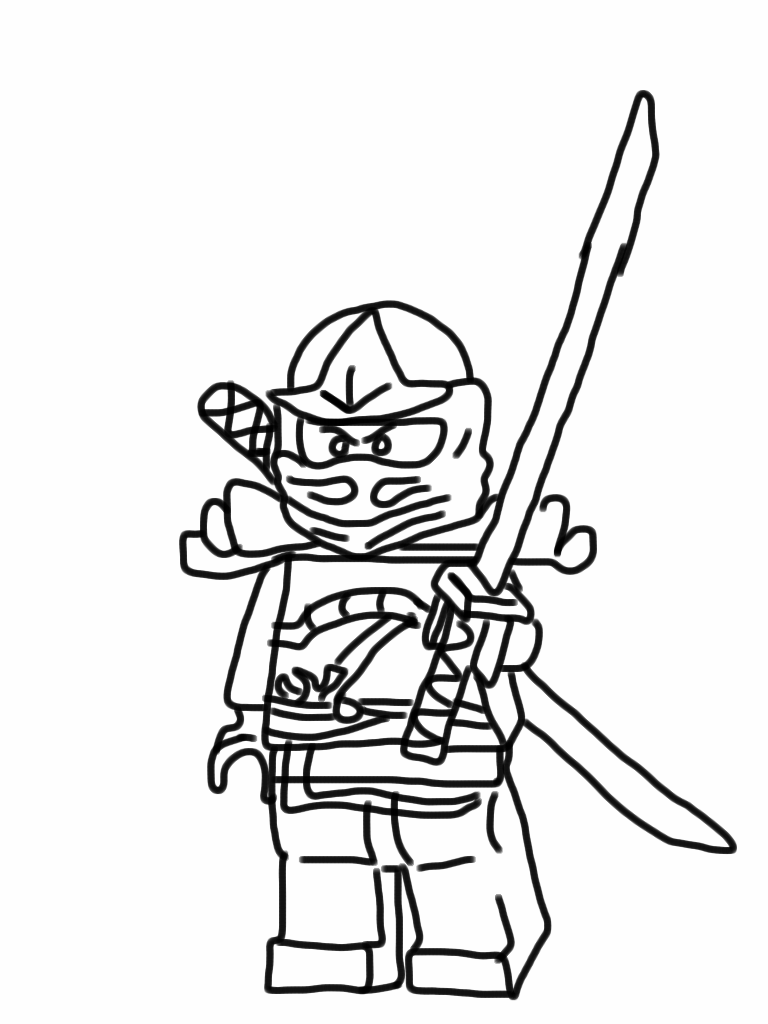Lego Ninjago Coloring Pages Best