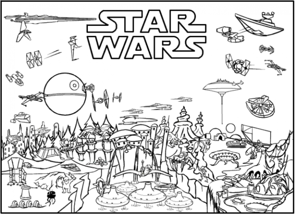 Lego Star Wars Coloring Pages - Best Coloring Pages For Kids