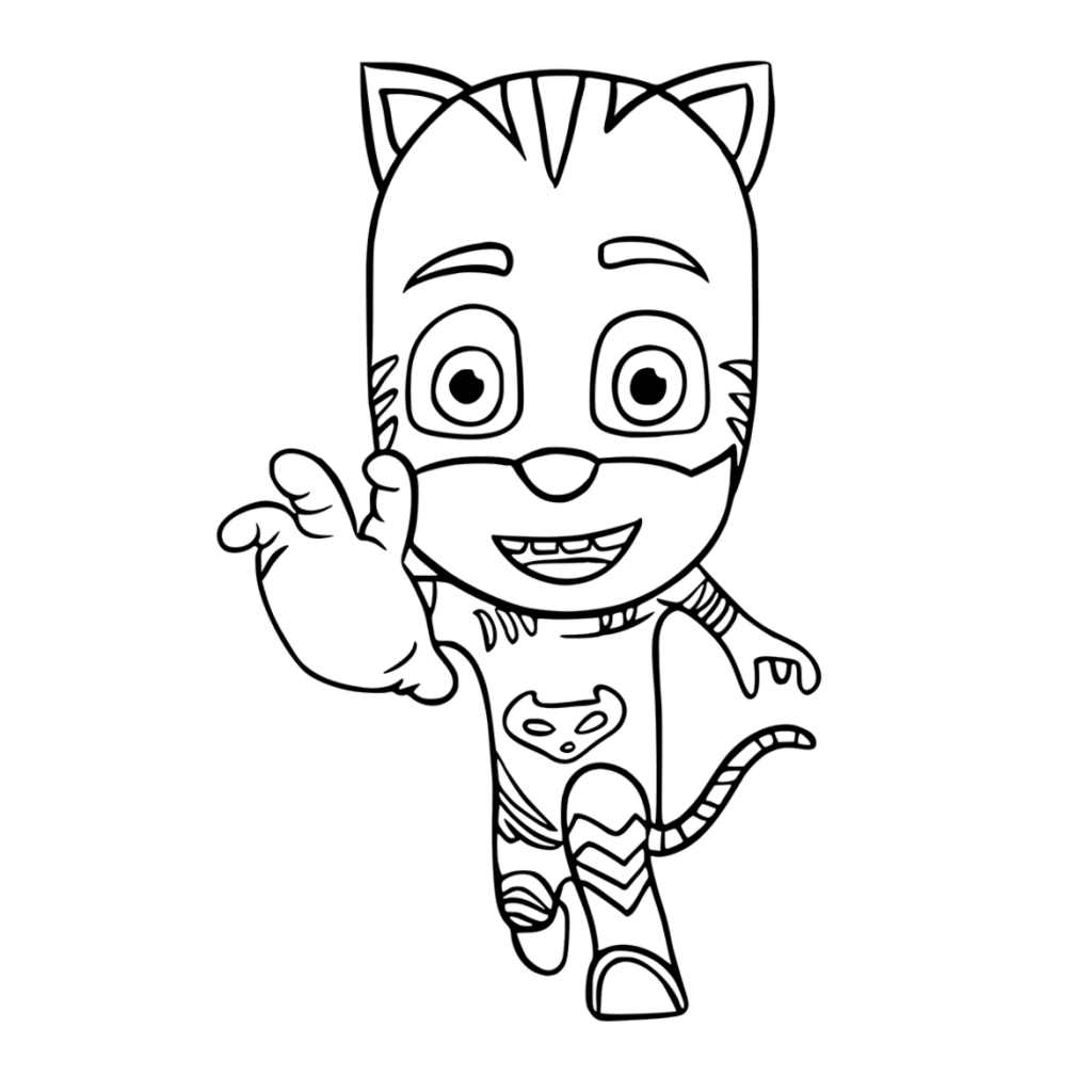 PJ Masks Catboy Coloring Pages
