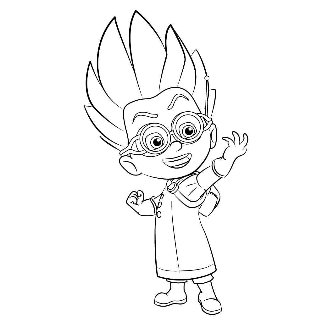 PJ Masks Romeo Coloring Pages