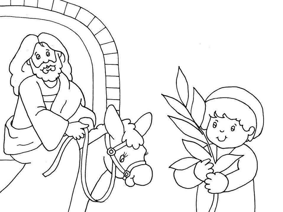 coloring pages palm - photo#45