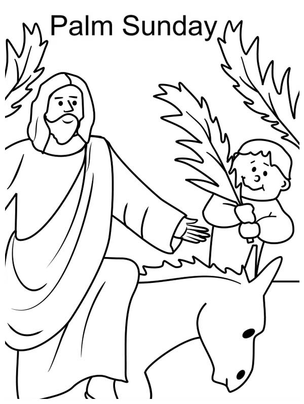 coloring pages palm - photo#42