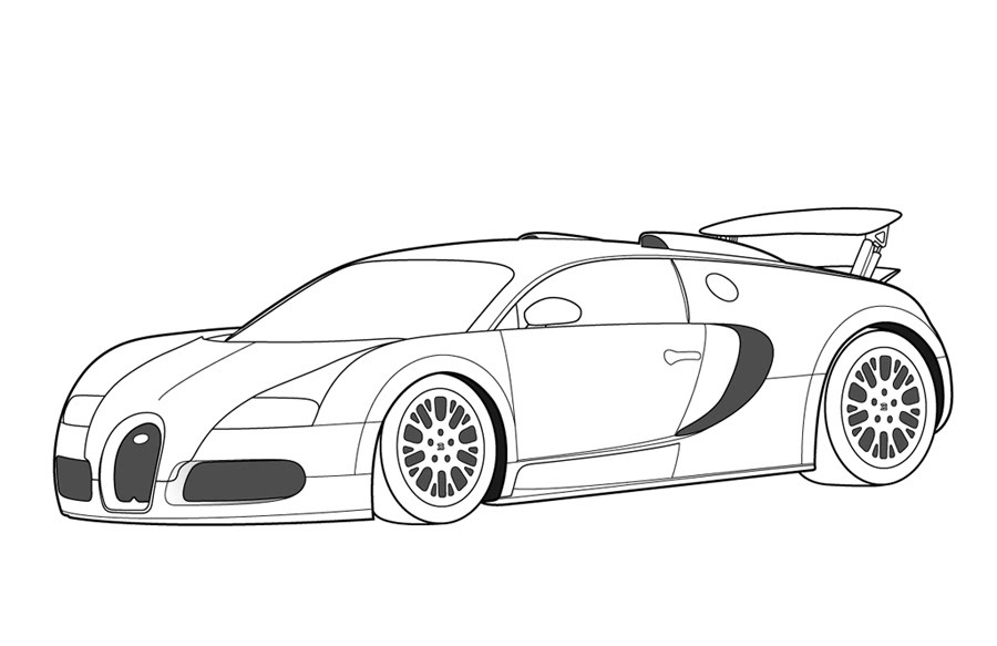 Print Free Car Coloring Pages