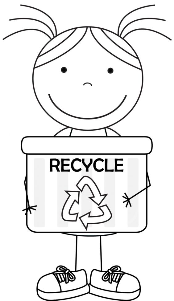 Recycling Coloring Pages Paper Recycling Bin Coloring Page Free ... | 977x564