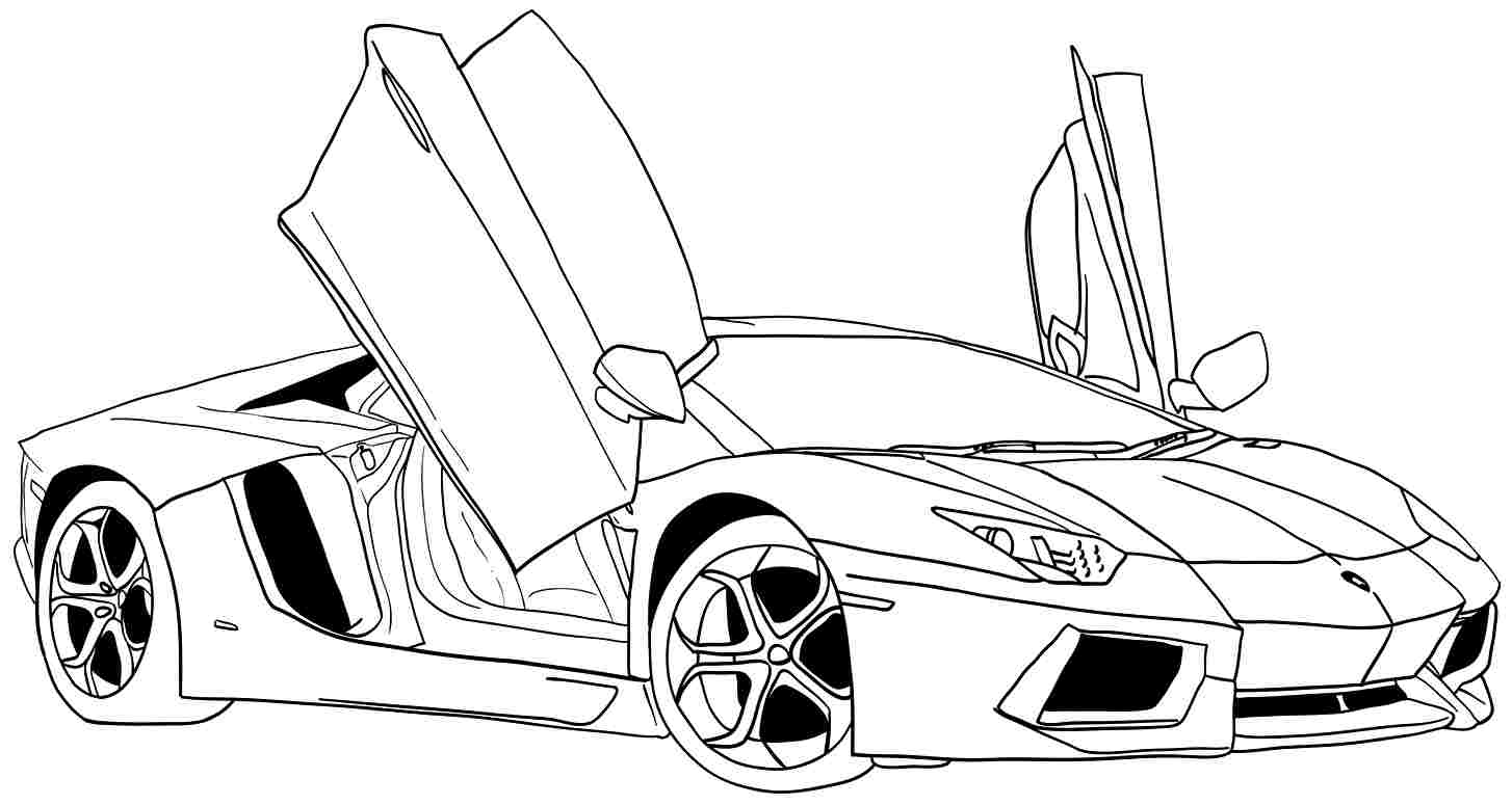 Top 20 Free Printable Sports Car Coloring Pages Online | 775x1454