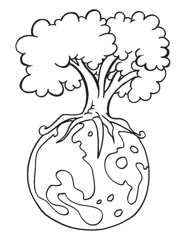 Earth Day Coloring Pages - Best Coloring Pages For Kids