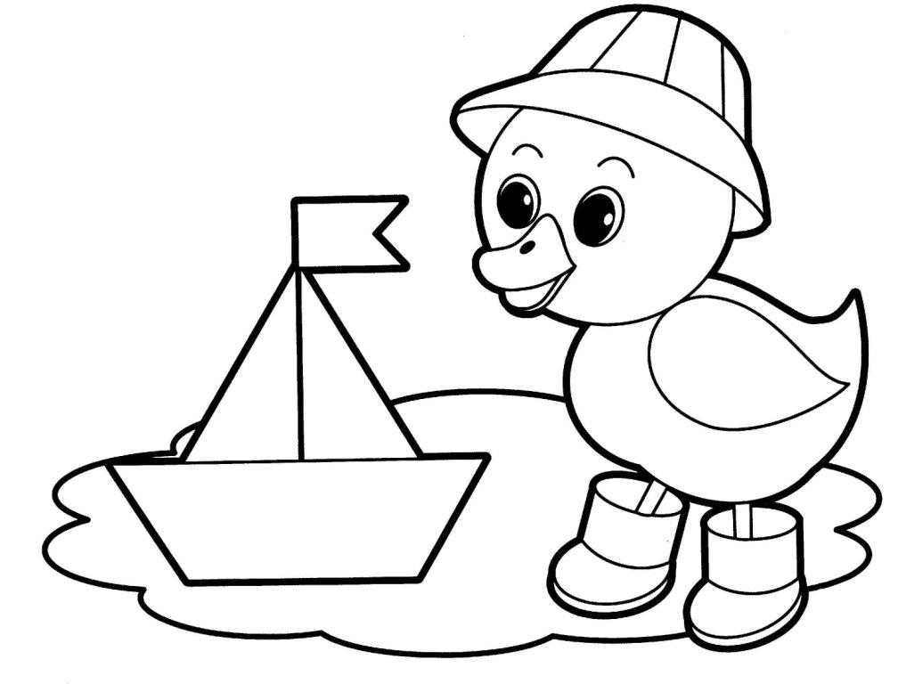 Easy coloring pages best coloring pages for kids for Fun coloring pages for kids