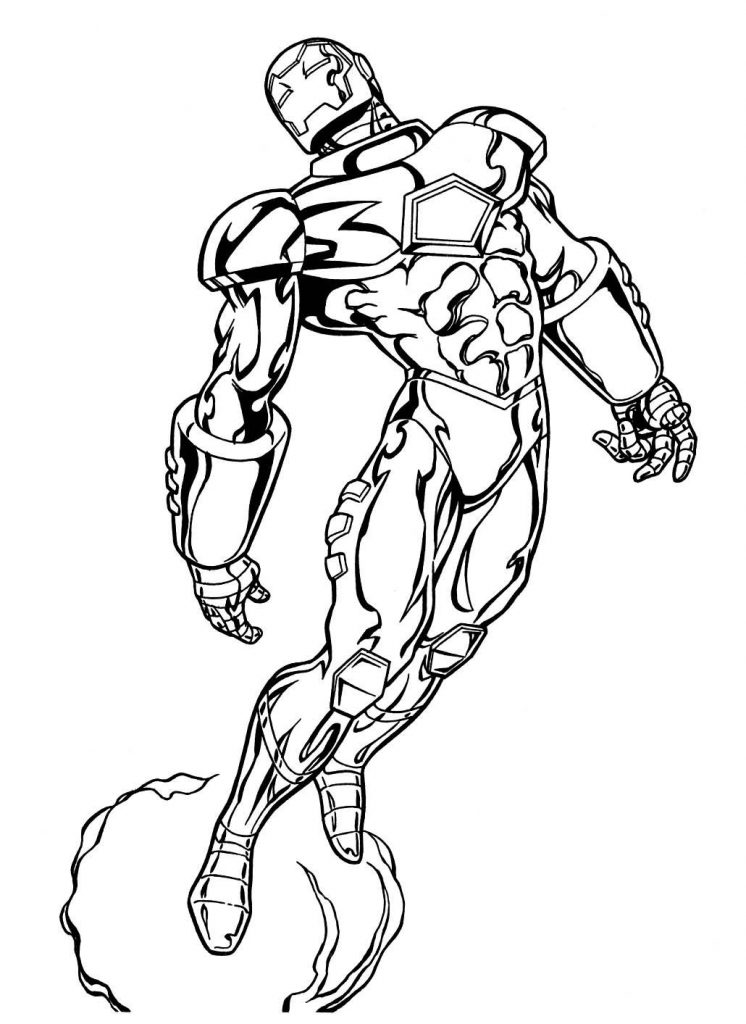 Marvel Coloring Pages Free