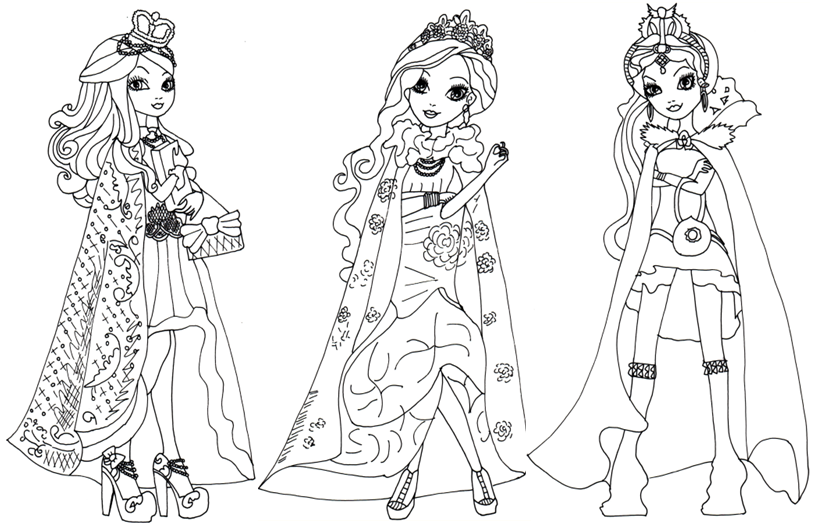 Color Ever After High