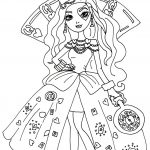 Ever After High Free Printable Coloring Pages