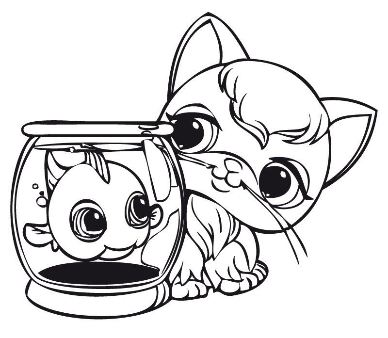 Littlest Pet Shop Coloring Pages - Best Coloring Pages For Kids