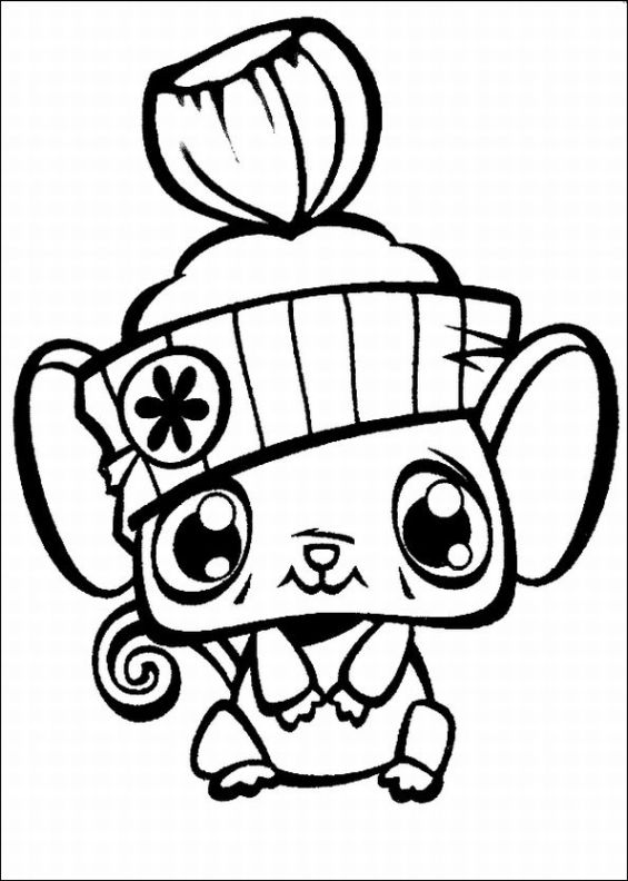 Littlest Pet Shop Coloring Pages Free Printables