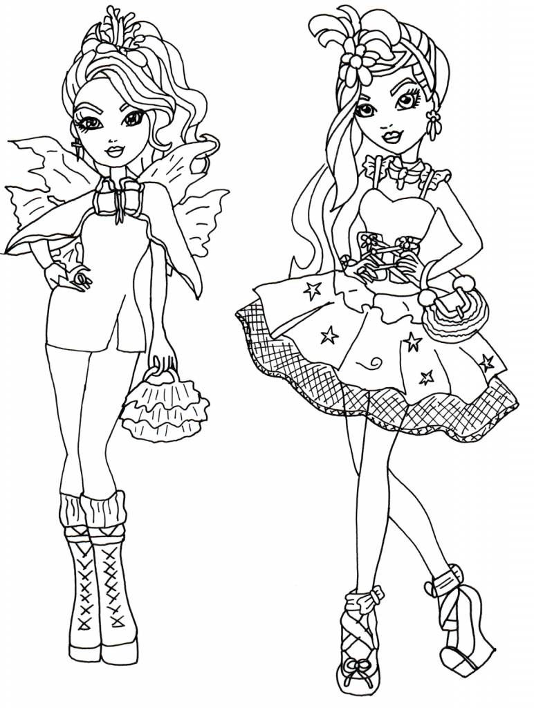 Print Ever After High Coloring Pages