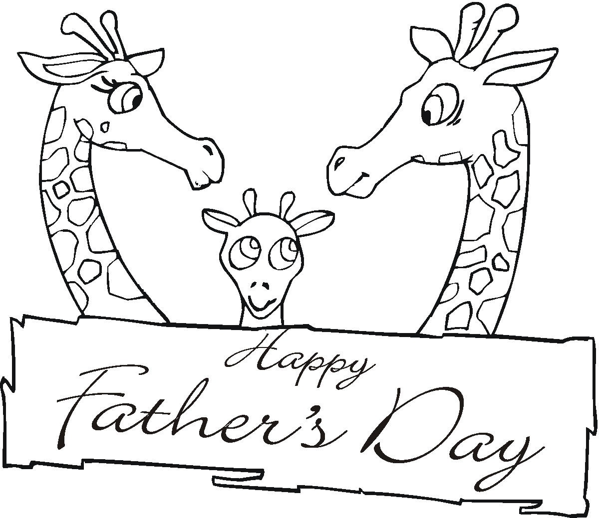 Father's Day Coloring Pages | 1039x1200