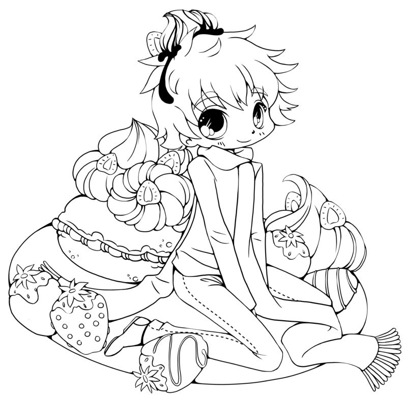 image about Printable Anime Coloring Pages identify Anime Coloring Webpages - Simplest Coloring Internet pages For Children