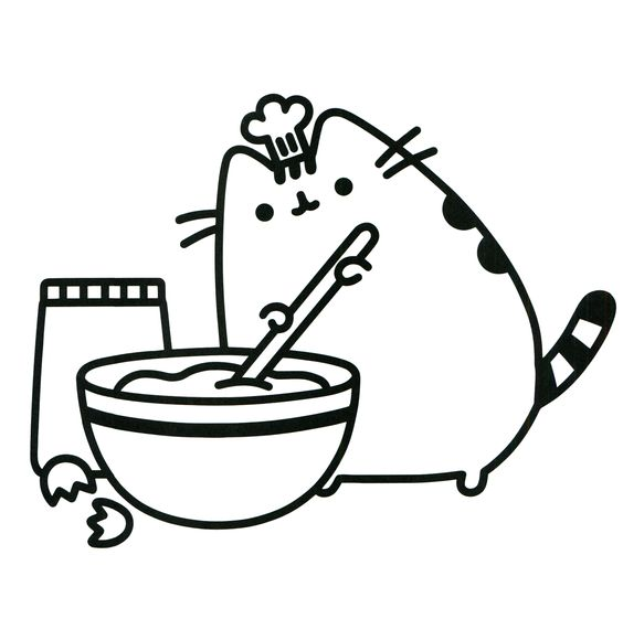 Pusheen Coloring Pages - CatChef