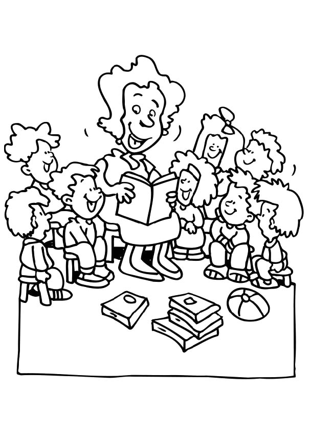 coloring book pages for educators - photo#14