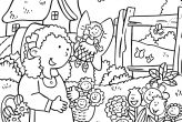 beautiful garden coloring page free printable coloring pages - HD 1024×1286