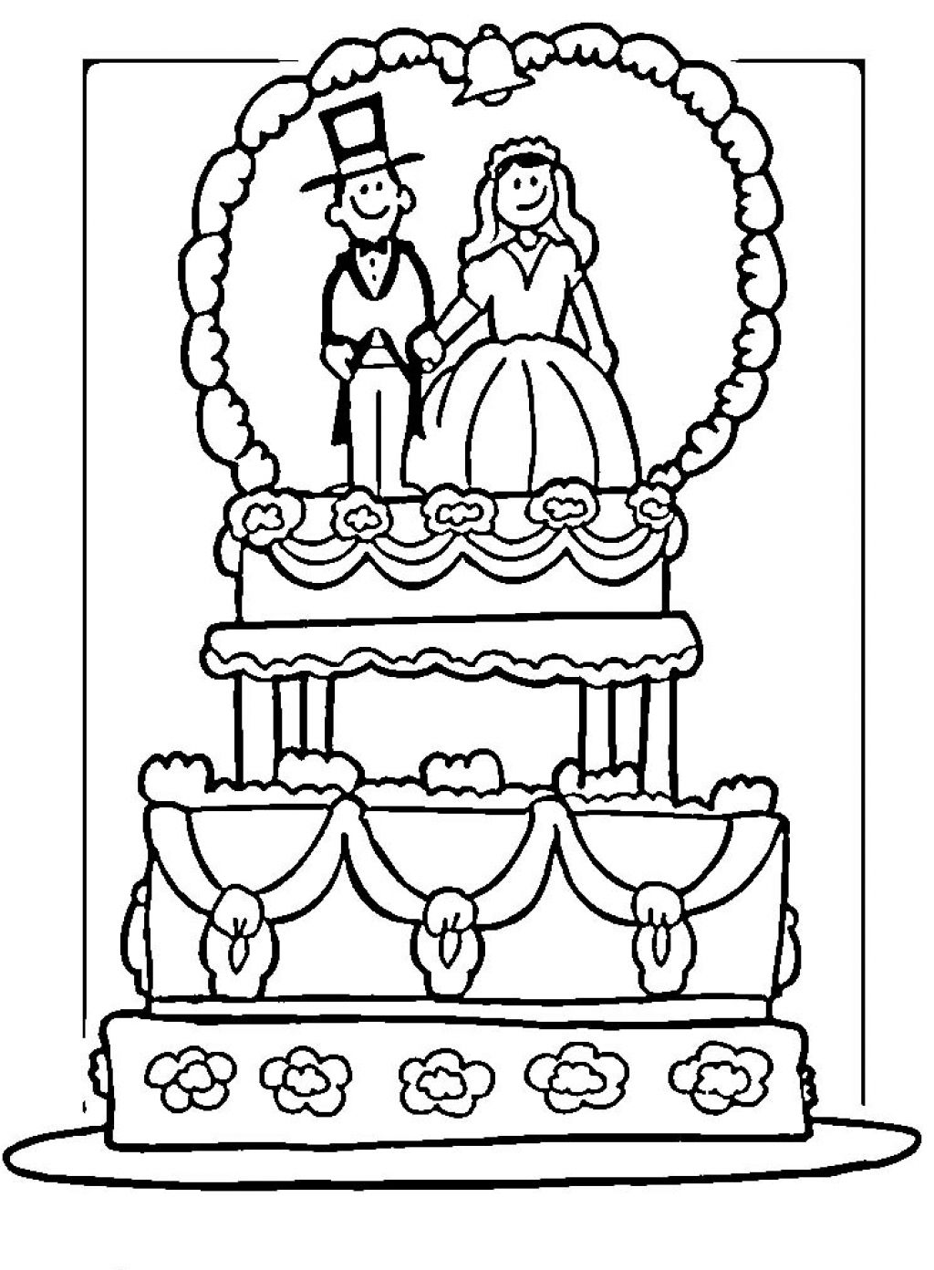 photograph relating to Free Printable Wedding Coloring Pages referred to as Marriage Coloring Internet pages - Ideal Coloring Internet pages For Small children