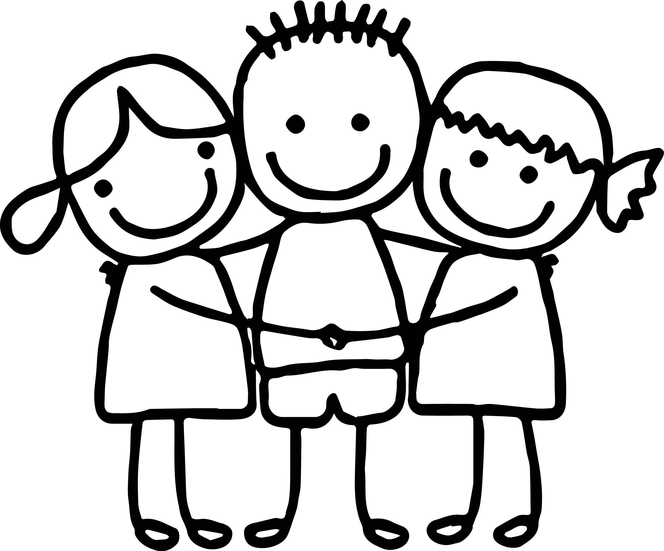 preschool coloring pages friends | Best Friends Coloring Pages - Best Coloring Pages For Kids