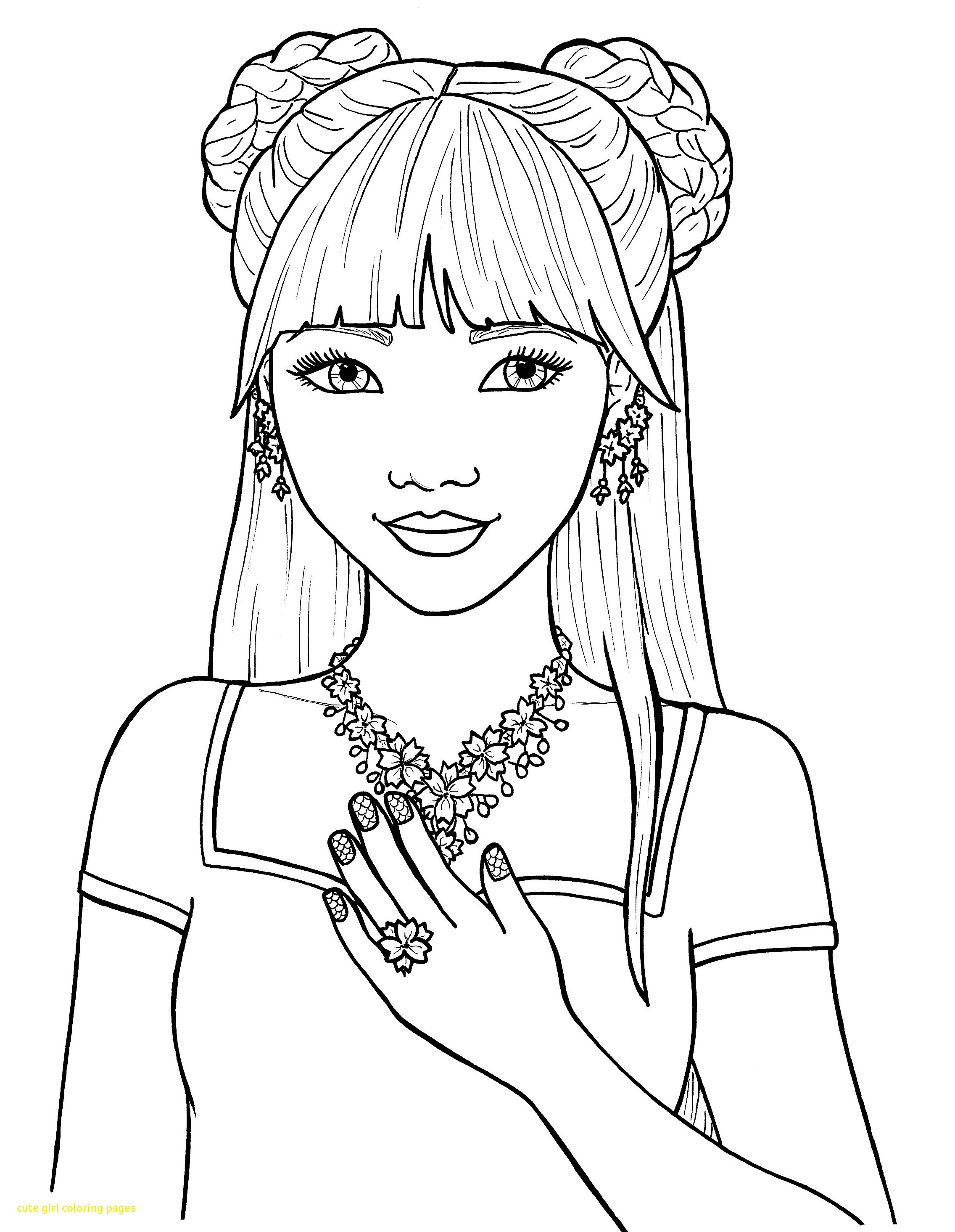 Coloring Pages for Girls Best