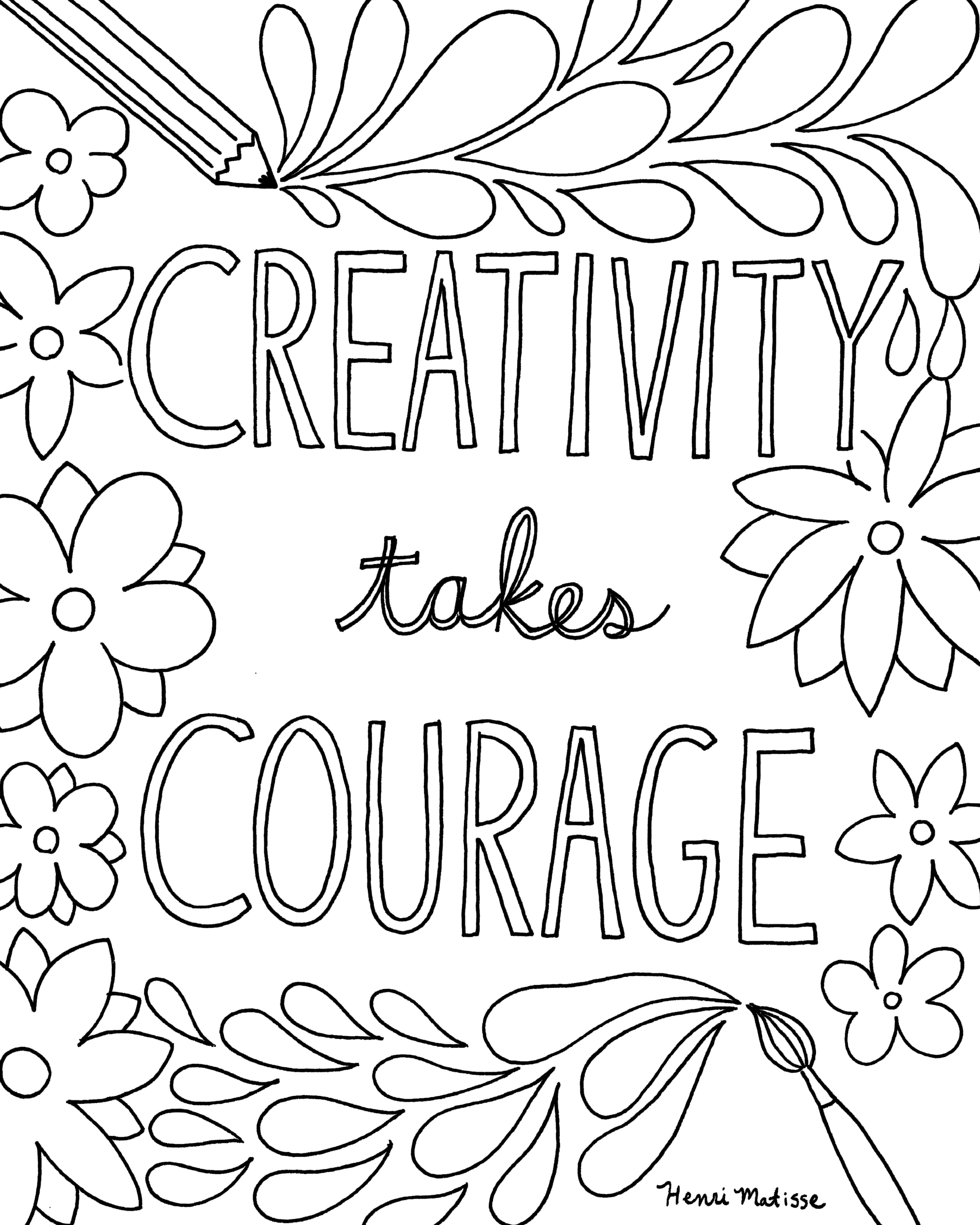- Quote Coloring Pages For Adults And Teens - Best Coloring Pages
