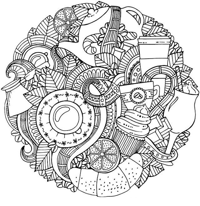 Doodle coloring pages best coloring pages for kids Best coloring books for adults 2018