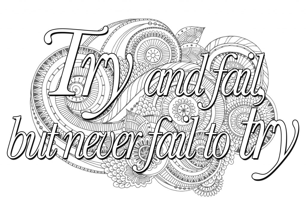 Try Quote Coloring Pages for Teens