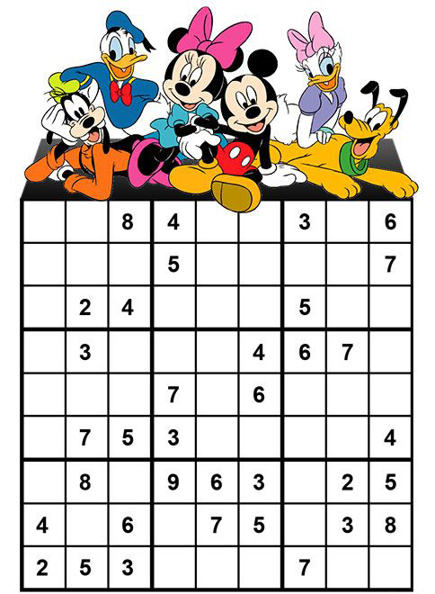 Mickey Mouse Board Game