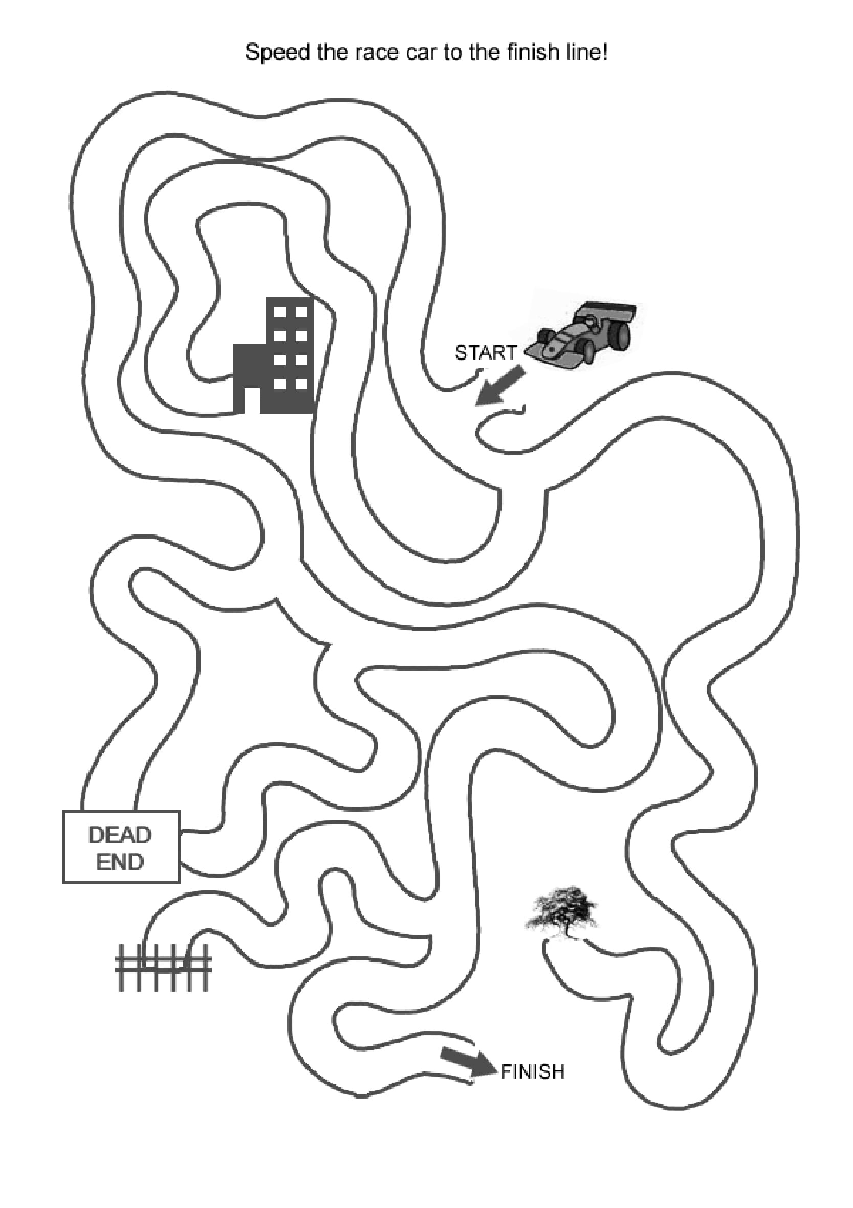 Easy Mazes Printable Mazes for