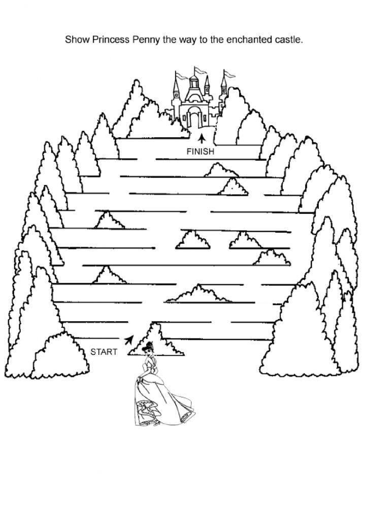 Castle Maze to Print