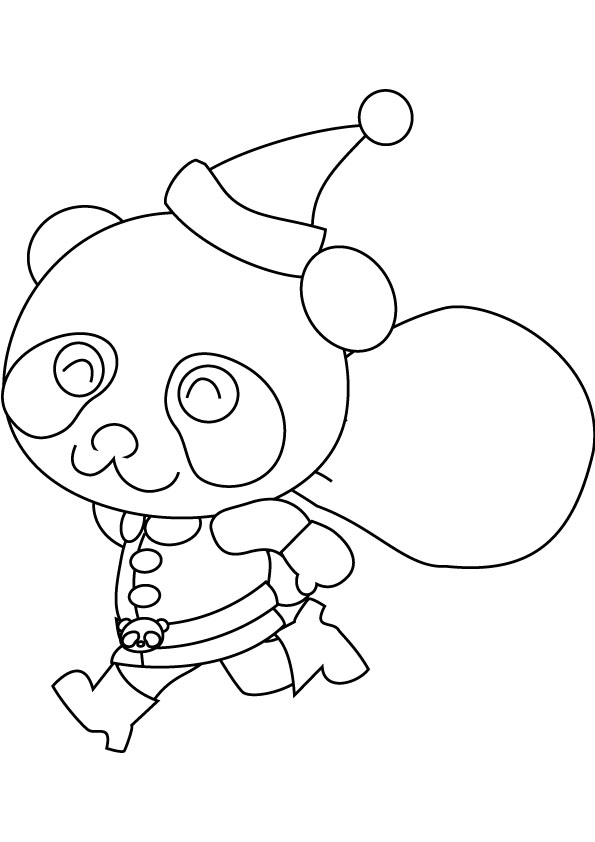 Baby Panda Coloring Pages | Learn Colors for Kids Coloring Book ... | 842x595