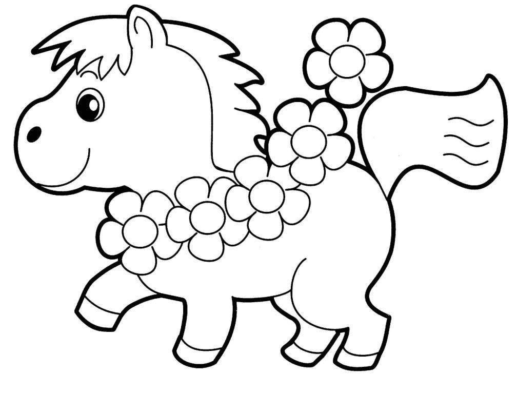 Cute Pony Coloring Pages