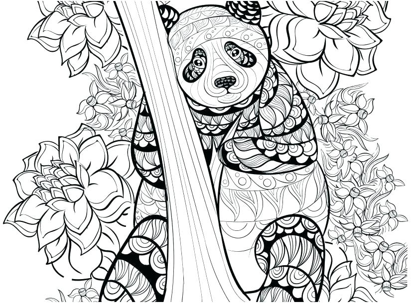 Accomplished image within panda coloring pages printable
