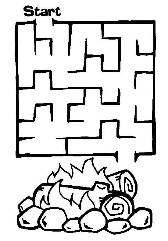 Easy Maze Bonfire