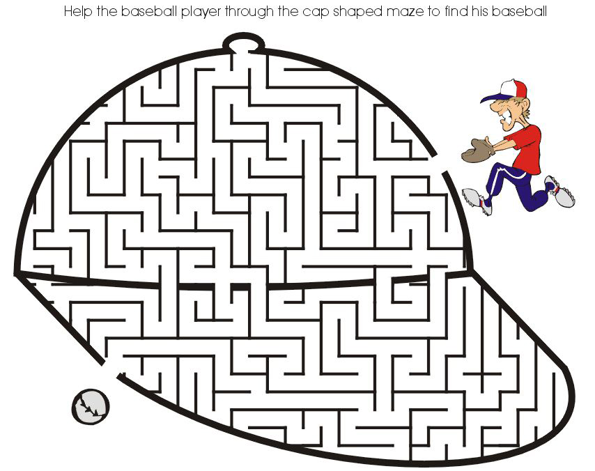 It's just an image of Bewitching Easy Printable Mazes