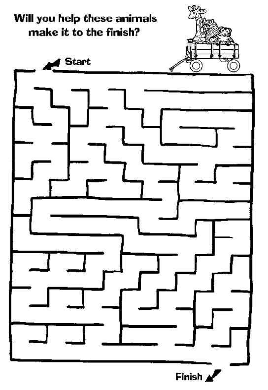 Find Your Way Easy Mazes