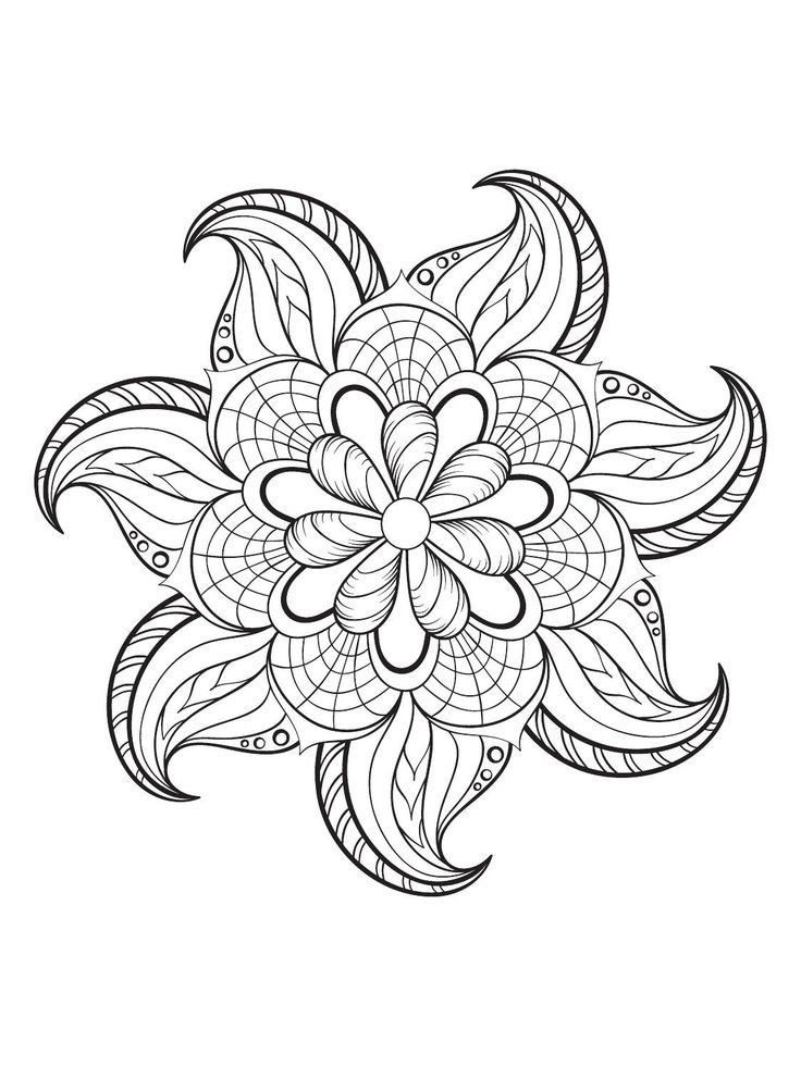 Mindfulness Coloring Pages - Best Coloring Pages For Kids
