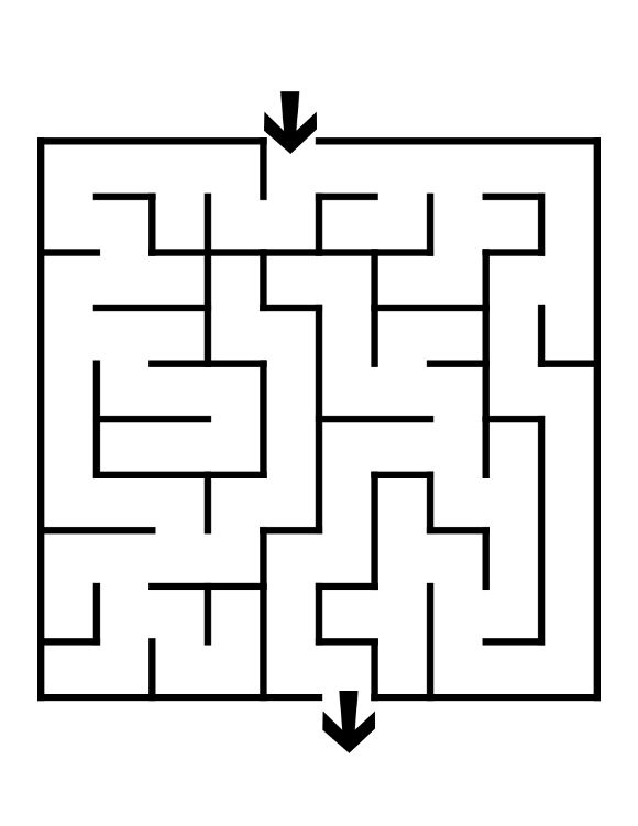 It's just an image of Juicy Easy Printable Mazes