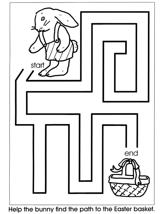 Easy Mazes  Printable Mazes for Kids  - Best Coloring Pages